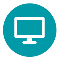 Illustration of a computer monitor