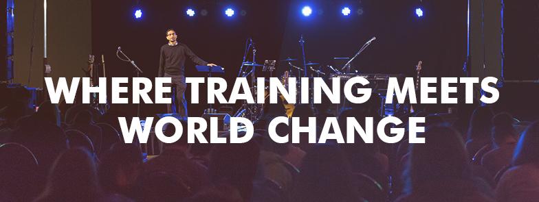 Where Training Meets World Change
