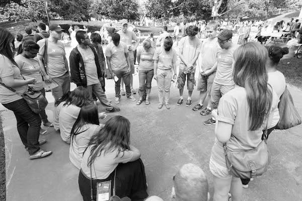 praying on campus