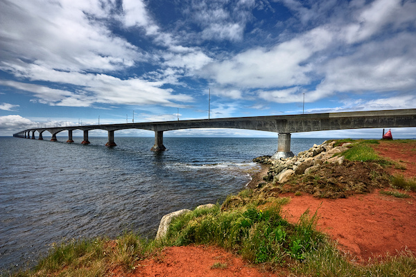 Confederation Bridge by Nicolas Raymond