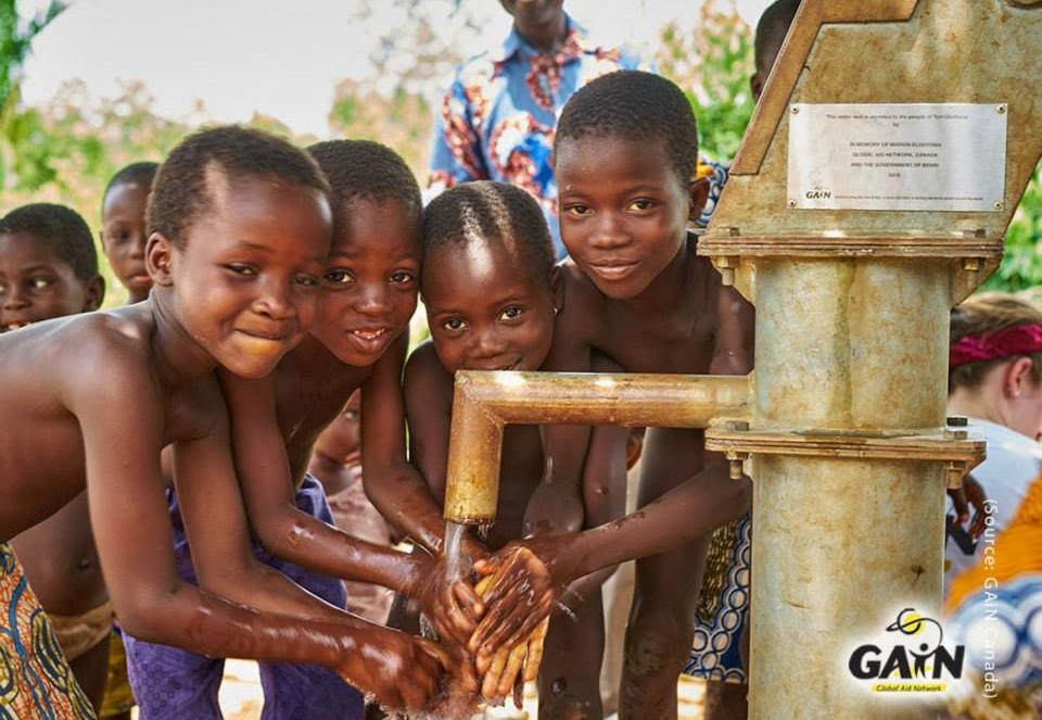 kids water gain