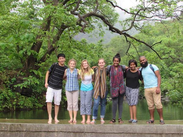 mission trip participants