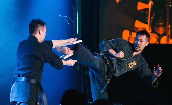 martial arts breaking faith barriers