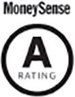 A Rating MoneySense logo