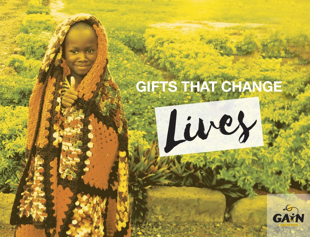 GAiN Christmas Catalogue. Gifts that change lives.