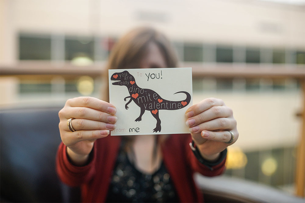 Download your free dino-mite card.