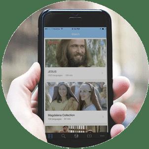 JESUS Film Media app