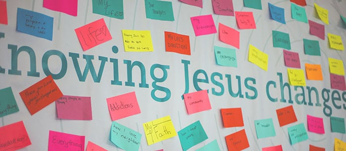 Knowing Jesus Chages_________. Banner