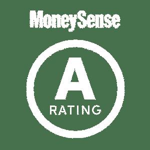 "MoneySense ""A"" grading"