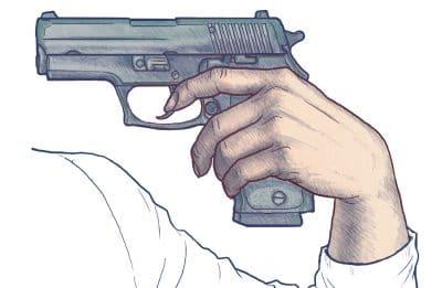 God Jams a Gun