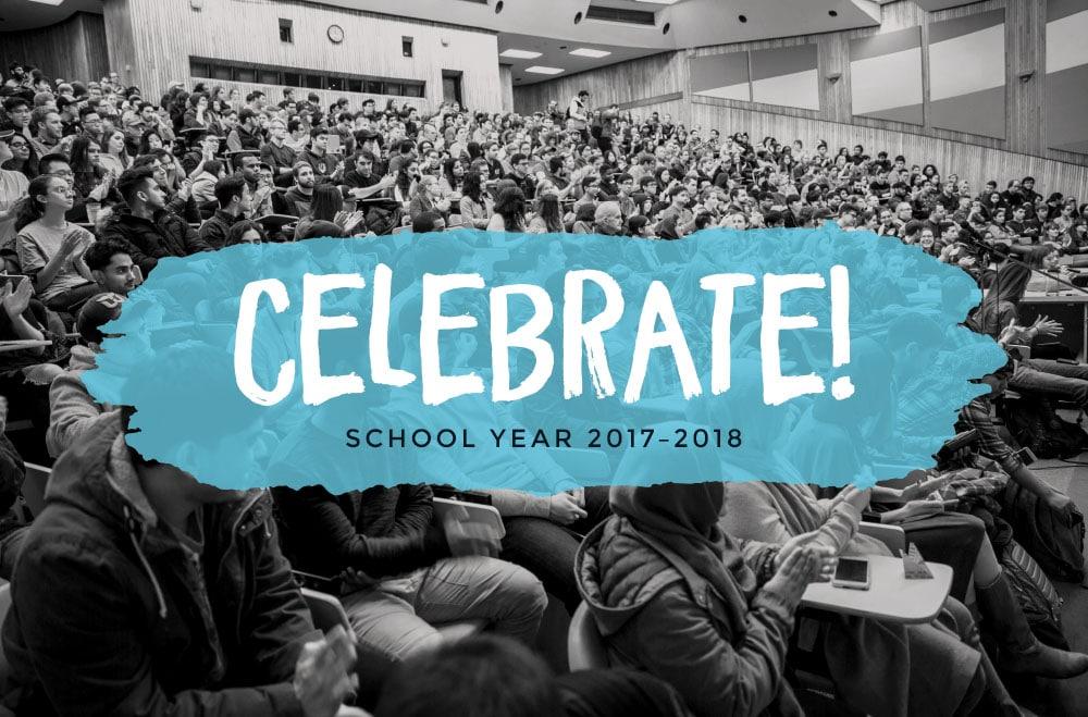 P2C Students Celebrate School Year 2017-2018