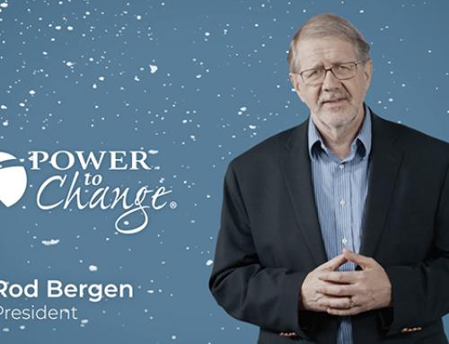 Rod Bergen 2018 Christmas Message