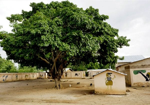 The village of Kpetakpa in Benin, West Africa
